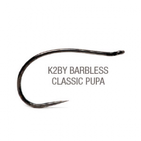 partridge PARTRIDGE K2BY Barbless Caddis Pupa Hook