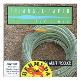 royal wulff WULFF 2-Tone Bermuda Triangle Taper Fly Line