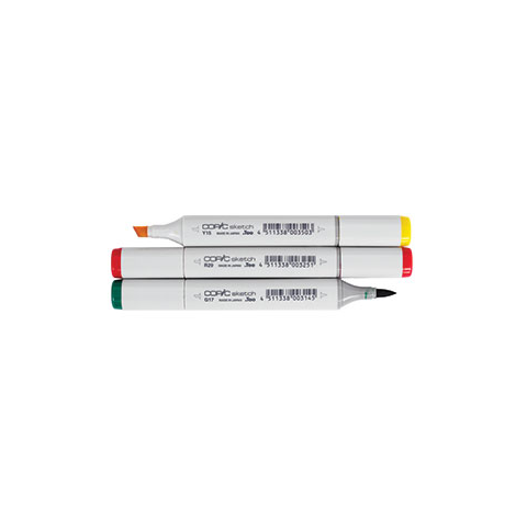 Copic Sketch Markers Feather Craft Fly Fishing